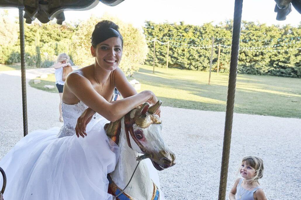 Carrousel pour un mariage